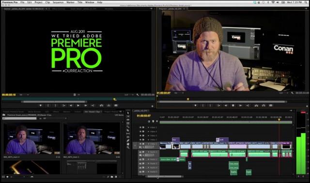 Premiere CS6 screen shot