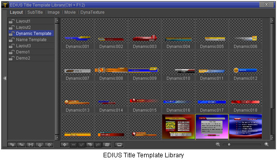 Adobe Premiere Template. vistitle for edius. creating title styles ...