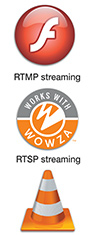 Flexible streaming internet protocols' support