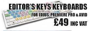£10 off EDITOR's Keys keyboards. Offer Ends 2nd January 2014