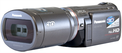 Panasonic AG-3DA1 professional 3D camera